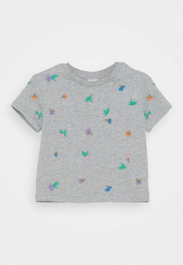 T-SHIRT - Print T-shirt - grey dusty light