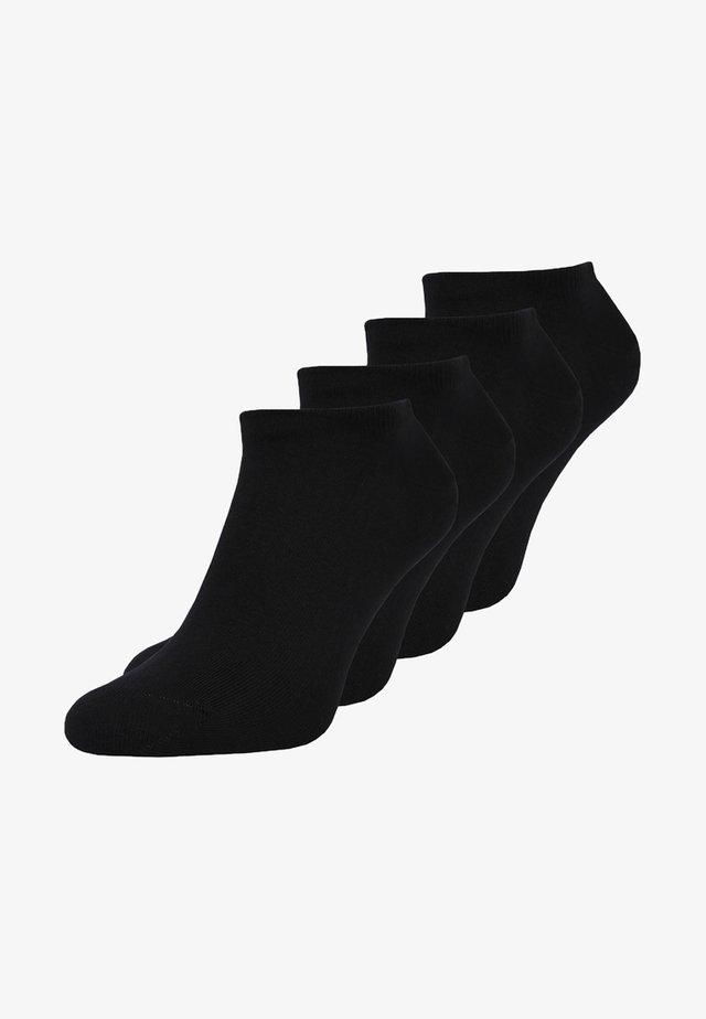 MEN SNEAKER 4 PACK - Sokken - black