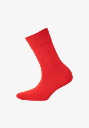 1 PAAR - Socks - rot