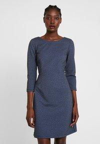 TOM TAILOR - DRESS CASUAL - Jersey dress - navy blue - 0