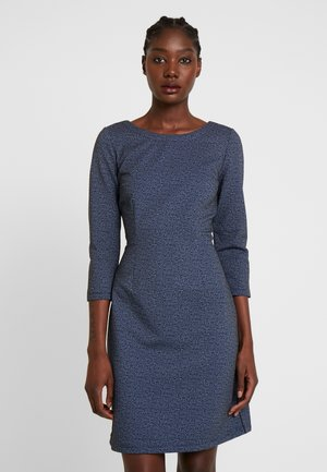 DRESS CASUAL - Jersey dress - navy blue