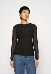 Banana Republic - Long sleeved top - true black - 0