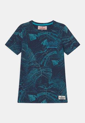 HOMARI - Print T-shirt - sea blue