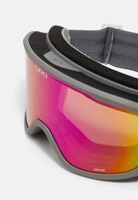 Giro - MOXIE - Gogle narciarskie - tit core lght amber pink/yell - 4