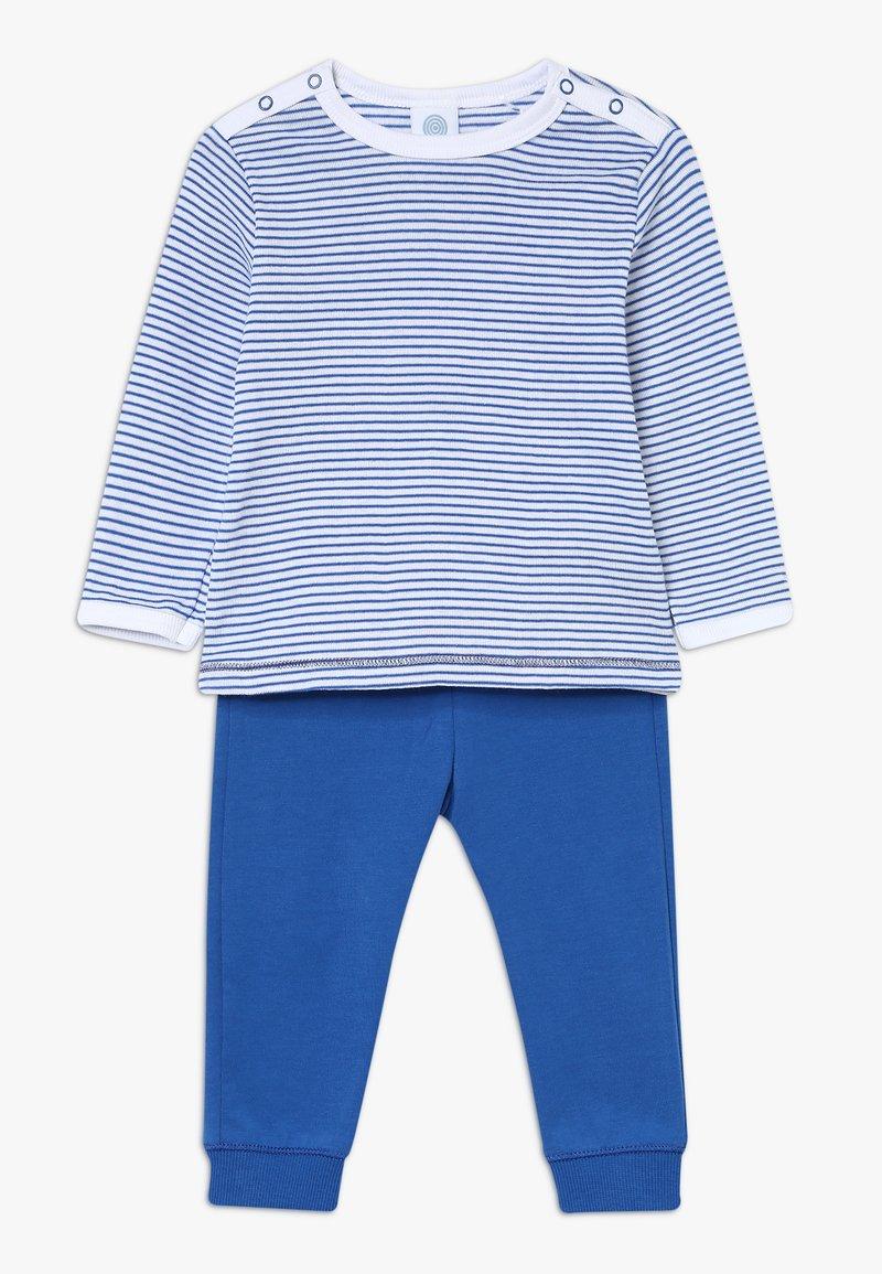 Sanetta - PYJAMA LONG BABY - Pyjamas - river blue