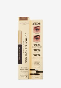 Revolution PRO - ULTIMATE BROW GEL - Eyebrow gel - medium brown - 1