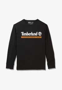 Timberland - LS ESTABLISHED 1973 - Bluzka z długim rękawem - black-wheat boot - 5