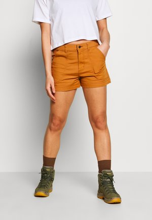 STAND UP - kurze Sporthose - umber brown