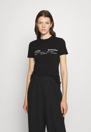 TIE DYE - T-Shirt print - black