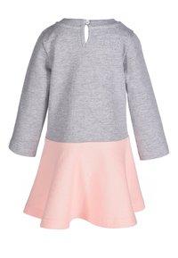 happy girls - Day dress - grey melange - 1