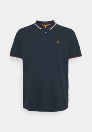 Polo shirt - dark blue/orange