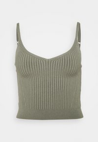 Abercrombie & Fitch - BRAMI TWINSET  - Cardigan - olive green - 2