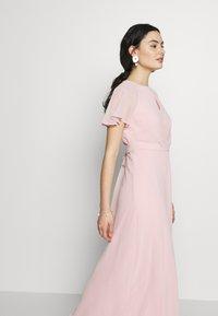 Dorothy Perkins - BLUSH PLEAT FRONT KEYHOLE MAXI DRESS - Iltapuku - pink - 4