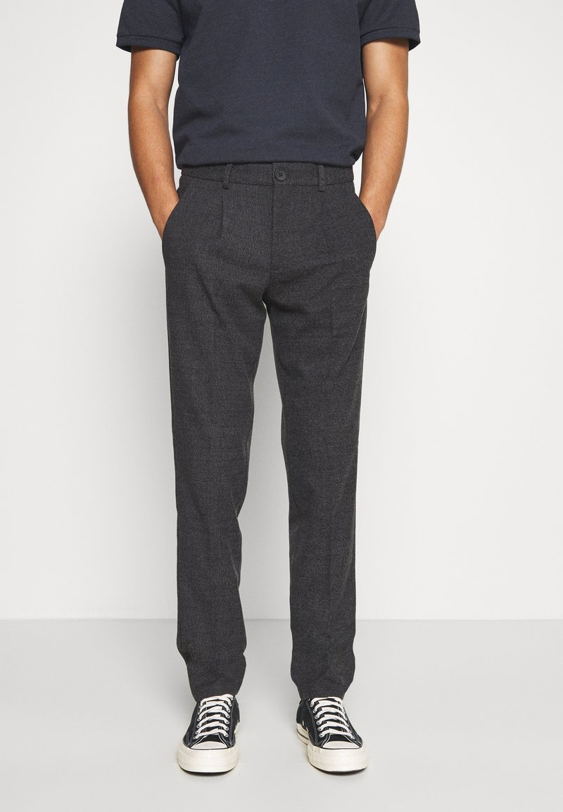 Jack & Jones PREMIUM - JJIMARCO JJSEAN - Trousers - dark grey
