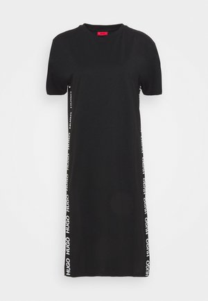 NESSUNA - Jersey dress - black