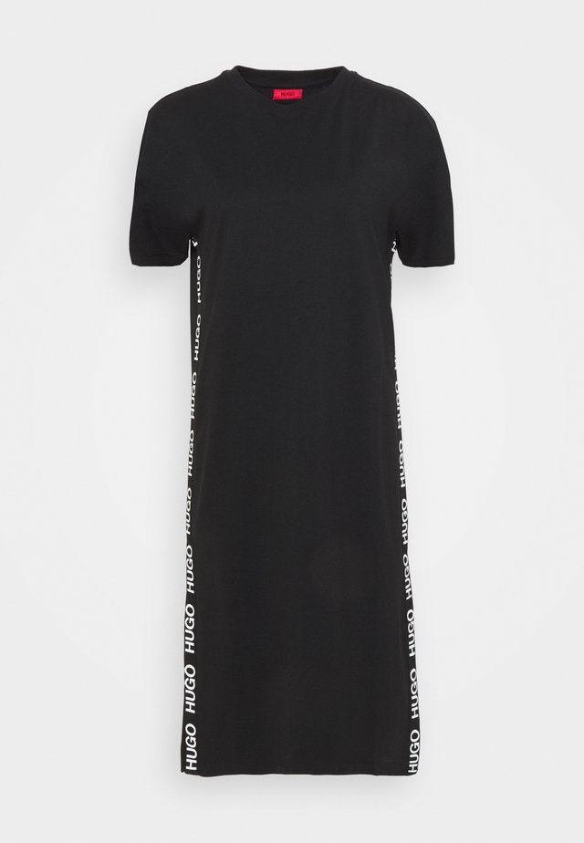 NESSUNA - Košilové šaty - black