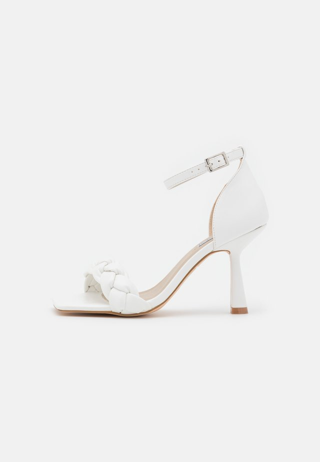 GORGEOUS - Sandalias - white