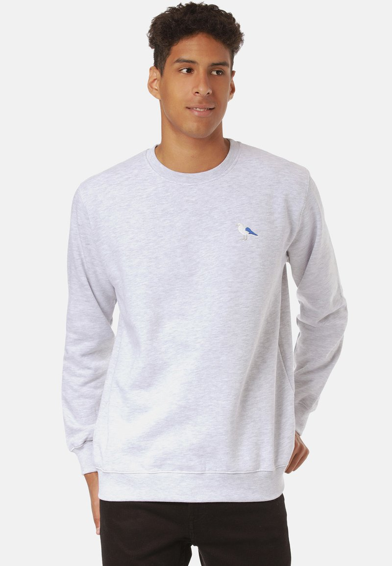 Cleptomanicx EMBRO GULL - Sweatshirt - grey/grau HUSjDV