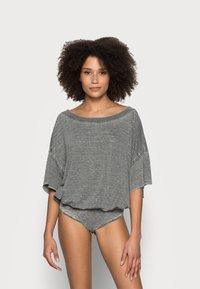 Free People - COZY GIRL - Pyjama - washed black - 0