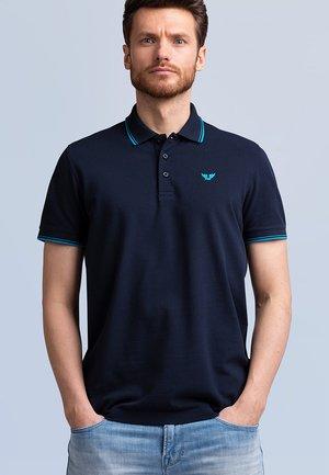 STRETCH - Polo shirt - sky captain