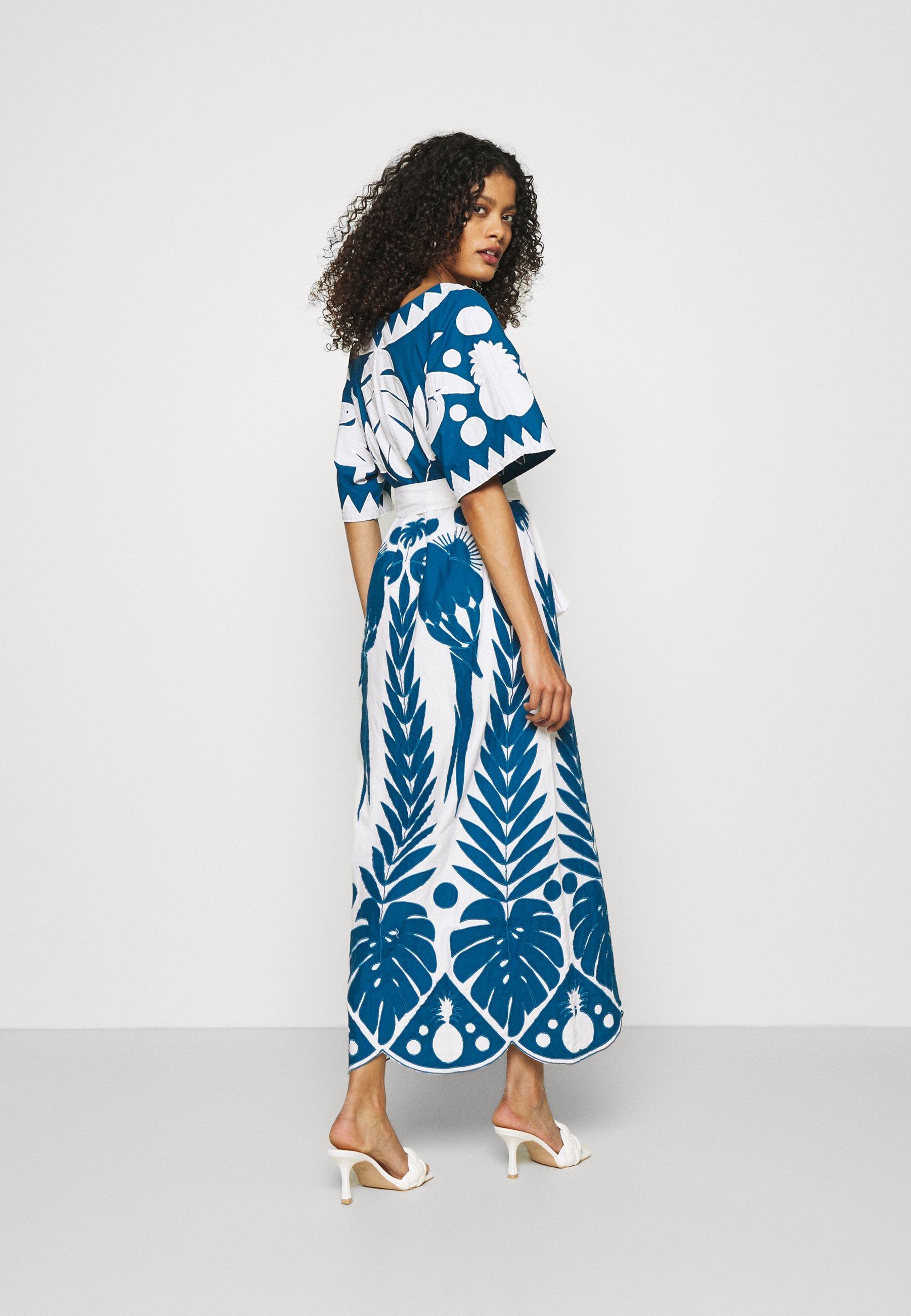 Damen PATCHWORK EMBROIDERED DRESS - Freizeitkleid