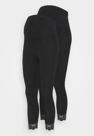 MLELIANA 2 PACK - Leggingsit - black