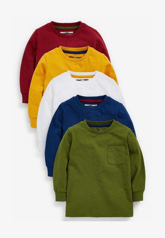5 PACK  - Longsleeve - multi-coloured