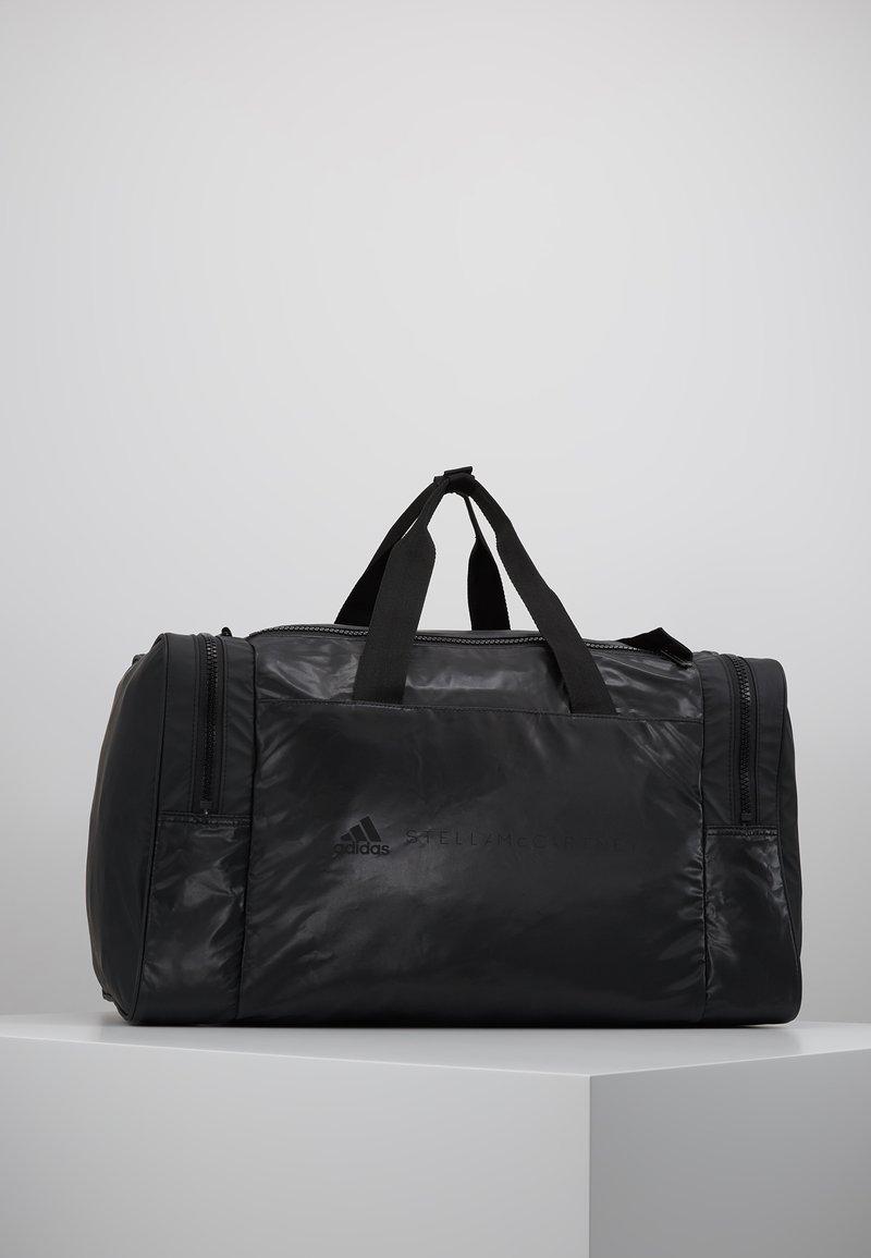 adidas by Stella McCartney SQUARE DUFFEL M - Sportväska - black/black/white