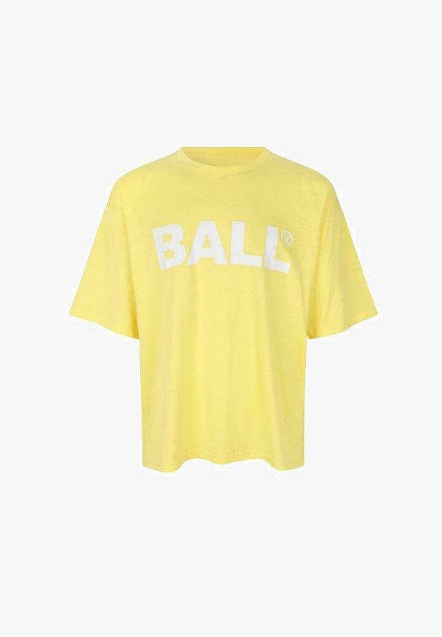 TEE - T-shirts med print - yellow sunshine