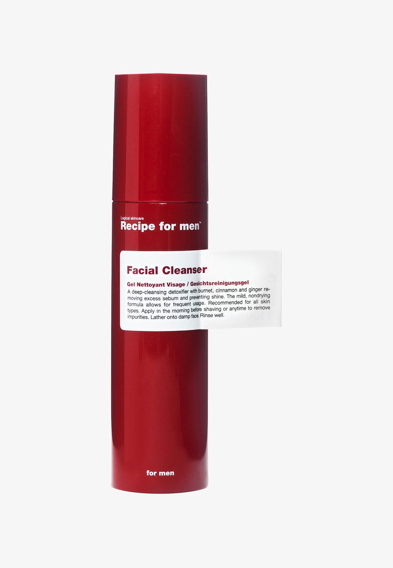 Recipe For Men - FACIAL CLEANSER 100ML - Nettoyant visage - -
