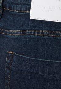 Glamorous Curve - RIPPED WREN - Jeans Skinny Fit - dark blue rinse - 5