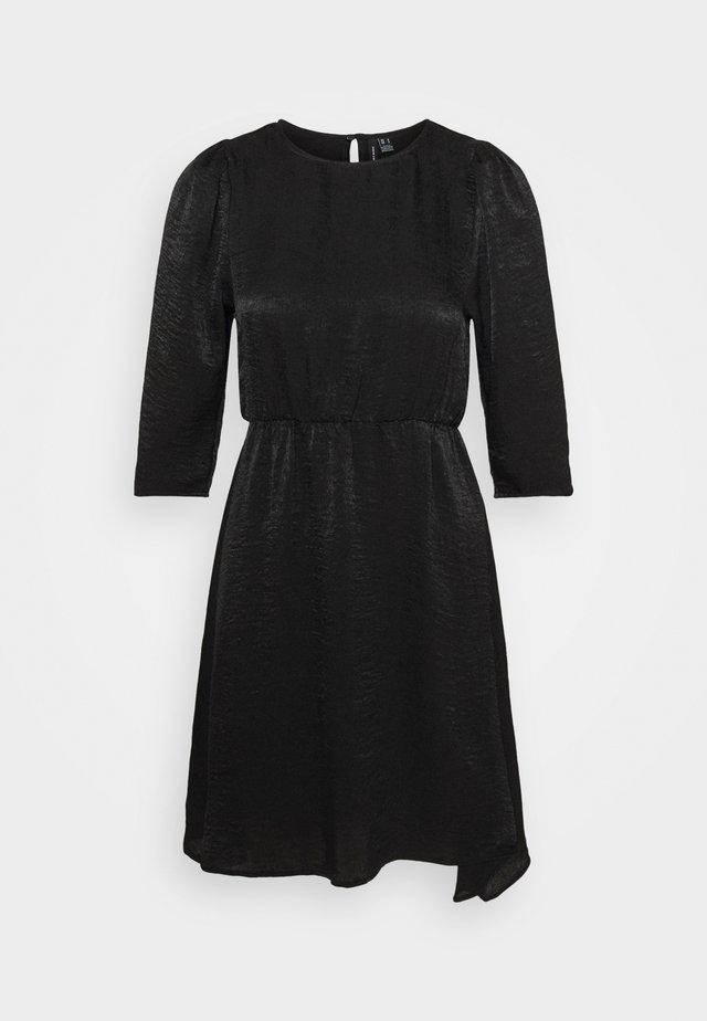 VMJENICE SHORT DRESS - Korte jurk - black