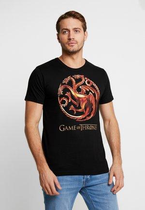 GAME OF THRONES - Print T-shirt - black