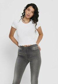 ONLY - Basic T-shirt - white - 0