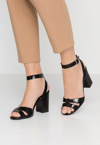 New Look - PENNY  - High heeled sandals - black - 0