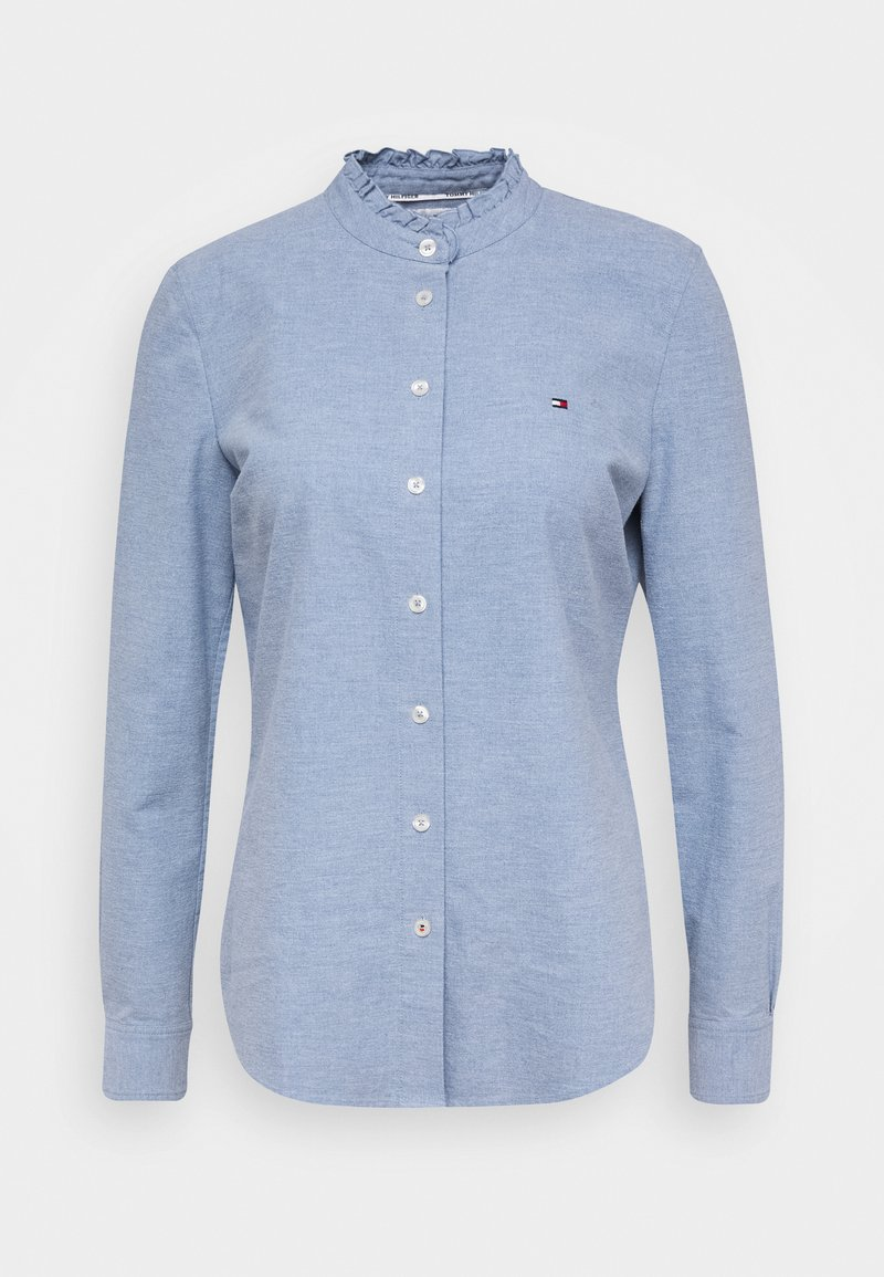 Tommy Hilfiger - RECYCLED OXFORD REG - Button-down blouse - daybreak blue