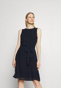 Esprit Collection - DRESS - Cocktail dress / Party dress - navy - 0