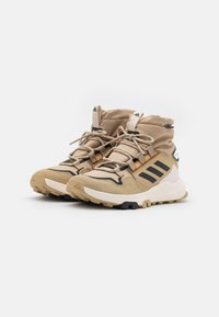 adidas Performance - TERREX HIKSTER MID COLD.RDY - Hiking shoes - beige tone/core black/focus blue - 1