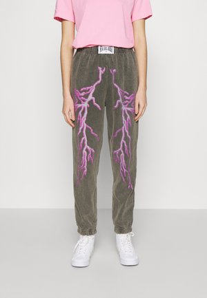 FLASH JOGGERS - Spodnie treningowe - grey
