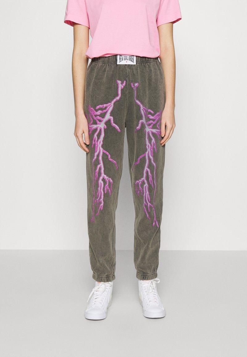 NEW girl ORDER - FLASH JOGGERS - Teplákové kalhoty - grey