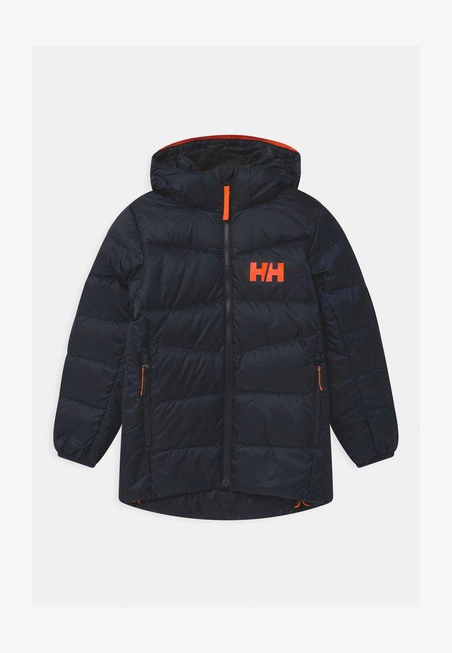 JORD UNISEX - Down jacket - navy