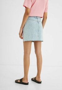 Desigual - Pencil skirt - red - 2