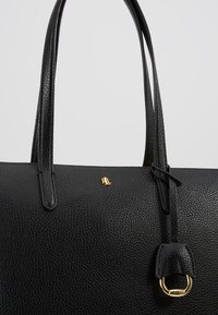 Lauren Ralph Lauren - PEBBLE GRAIN KEATON - Handbag - black - 6