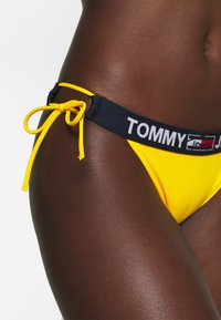 Tommy Hilfiger - CHEEKY SIDE TIE - Bikini bottoms - amber glow - 3