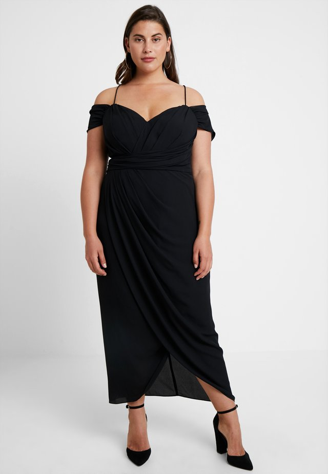 EXLUSIVE ENTWINE DRESS - Cocktailjurk - black