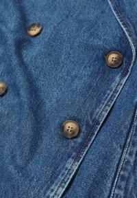Mango - Trenchcoat - middenblauw - 6