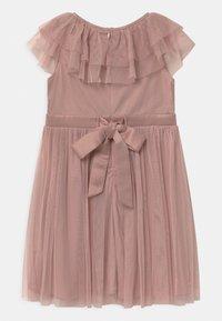 Anaya with love - RUFFLE BIB WITH BOW - Koktejlové šaty/ šaty na párty - frosted pink - 1