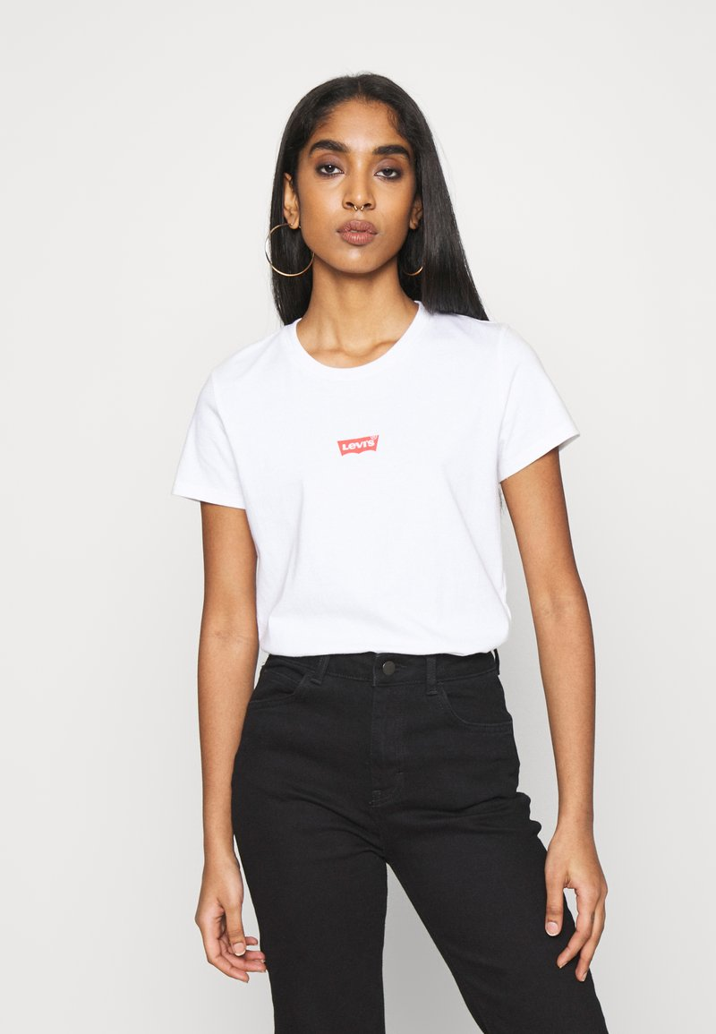 Levi's® - THE PERFECT TEE BABY BATWING - T-shirt con stampa - white graph