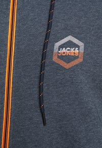 Jack & Jones - JJDELIGHT ZIP HOOD - Bluza rozpinana - navy blazer melange - 5