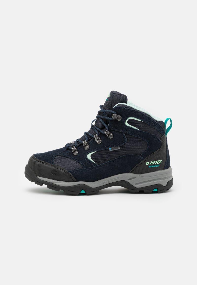 Hi-Tec - STORM WP WOMENS - Hiking shoes - sky captain/mint/navigate
